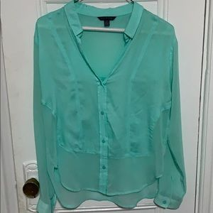 Light blue American Eagle button up